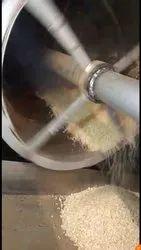 Mild Steel DIESEL&GAS Rice Murmura Roaster machine, For Industrial, 4 Hp