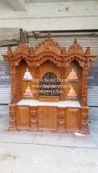 BAPS Swaminarayan Mandir Temple With Base Drawers And Cabinets