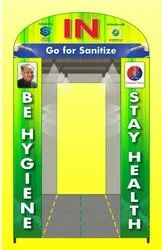 Sanitizing Booth