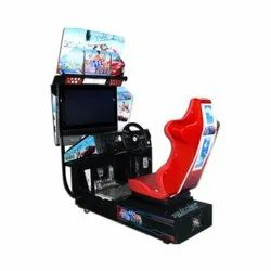 Rectangle Outrun Car Race for Indoor
