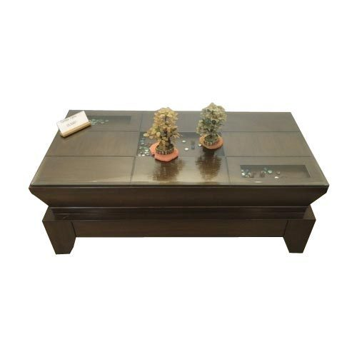 Sofa With Center Table: Wooden Center Table 4 X 2 At Rs 18500 /piece