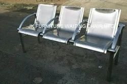 3 Seater SS Hospital Waiting Chair