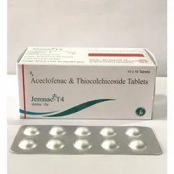 Aceclofenac & Thiocolchicoside Tablet