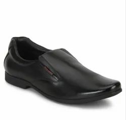 Red Chief Mens Black Formal Leather Shoes
