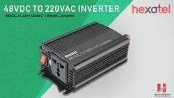温和的钢六角形48VDC至220VAC逆变器,220V AC