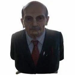 Half Man Statue