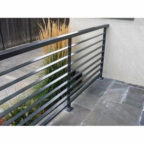 Ms Balcony Railing एमएस बालकनी रेलिंग Mild Steel Balcony