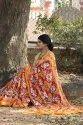 Handloom Linen Chanderi Sarees