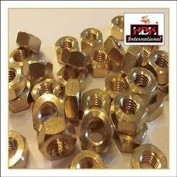 HBK Hexagonal M10 Brass Nuts, For Industrial