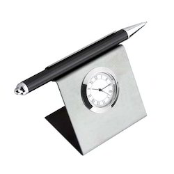 Pen Holder Cum Table Watch