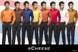 Cheese Formal Mens Shirt