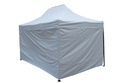 Quick Foldable Gazebo Tent-15'x10'-Side Wall-Heavy Duty-White