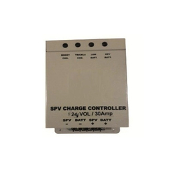 ABS Plastic SPV Charge Controller, Voltage: 24 V