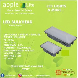10watt Led bulkhead light