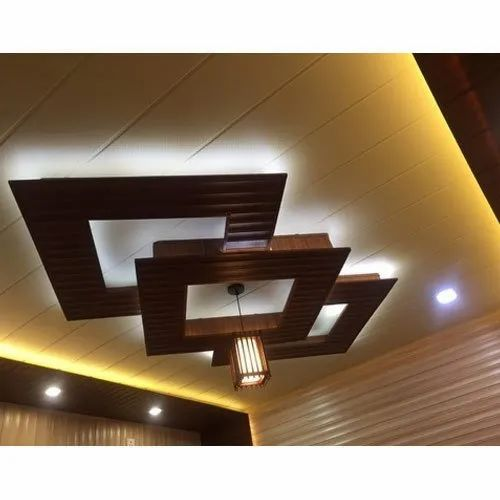 Pvc Ceiling Panels For Residential Commercial Rs 55 Foot Id 21192220912