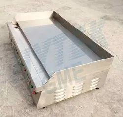 Stainless Steel Electric Griddle Table Top For Restaurants
