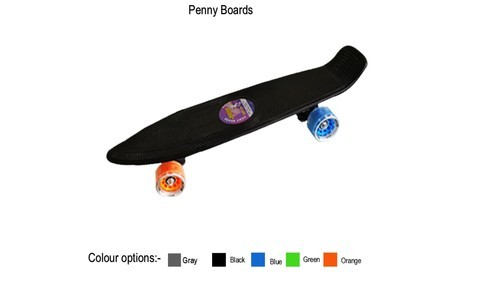 Verwonderend Plastic And Wood Penny Board Skateboard, Rs 407 /unit, Smart Craft HQ-87