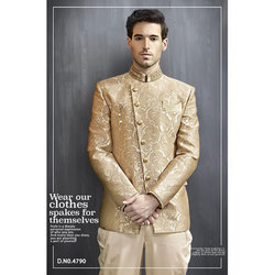 Silk Printed Jodhpuri Suits, Size: S -XXL