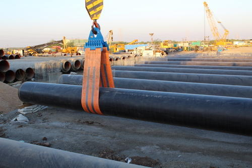 SPM Blue Pipe Lowering In Belt, Capacity: Depend On Size