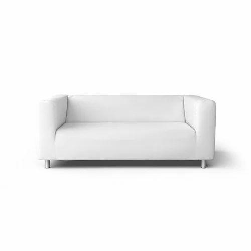 Two Seater Sofa White Manufacturer From Mumbai