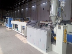 Plastic PE/PE/PVC Pipe Extrusion Making Extruder Machine