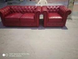 Cherry Leather Sofa Set At Rs 80000 Set Leather Sofa Set Id