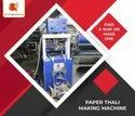 Double Die Chila Dish Making Machine