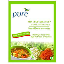 Pure Mixed Veg Soup Premix Powder, Packaging Size: 100g