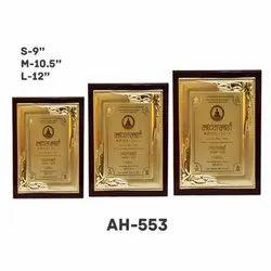 AH - 553 Premium Award