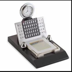 Table Top Clock and Lifetime Calendar