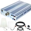 PREMIUM 2G 4G Dual Band Mobile Signal Booster Kit Coverage 2500 sq. Feet