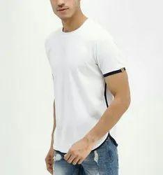 Cotton Casual Wear Mens Plain T-Shirt
