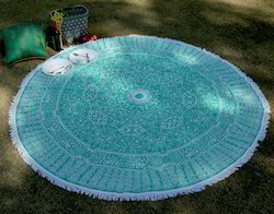Cotton Mandala Printed Boho Beach Mat