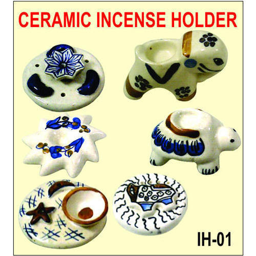 Ceramic Incense Holder, for Interior Decor
