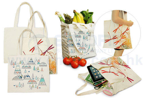 Good Printed Reusable Grocery Bag, Size/Dimension: Custom Size