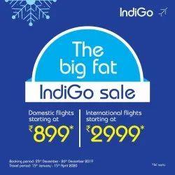1 Multi City INDIGO-AIRLINE, Pan India