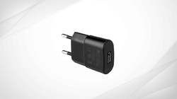 5V-500Ma Black USB Charger