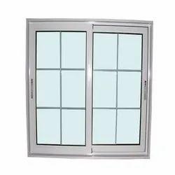 Modern Polished Rectangular Aluminium Window