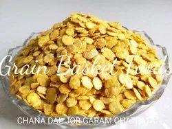 Roasted Chana Dal Flakes Chatpata