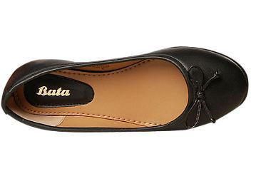 3ee088144a4a Bata Women Womens Black Ballerinas F551637800