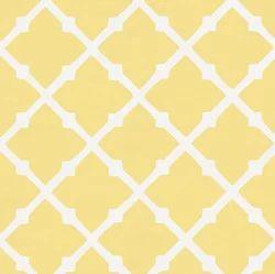 Printed Lattice Fabric, For Garments, GSM: 100-150