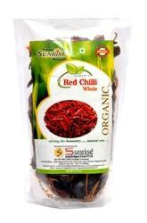 Powder Sunrise Organic Red Chilly, Packaging Size: 100g