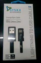Syska Charge Sync Cable