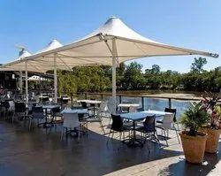 Restaurant Tensile  Structure Cone Model