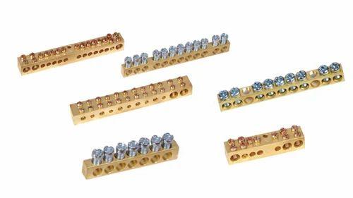 Brass Neutral Link / Neutral Bar / Connector - Brass Copper & Alloy ...