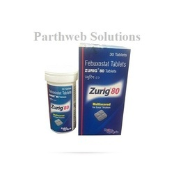 Zurig 80mg Tablets