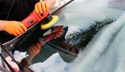 Car Glass Buffing & Polishing