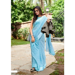 Designer Handloom Cotton Sarees