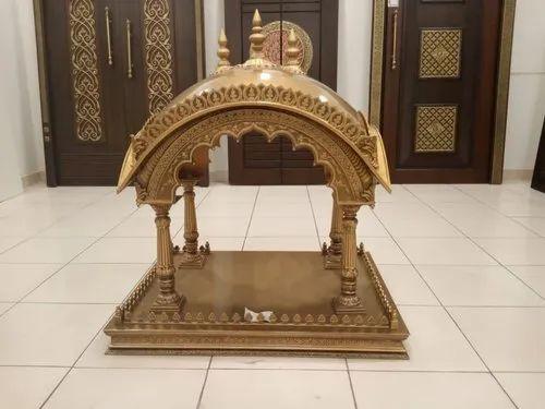 Brass Copper Pooja Mandir Designs For Home Artistic Art Forum Private Limited Id 21797764297