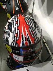 Designed Full Covered Helment